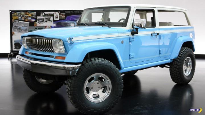Модное псевдо-ретро от Jeep