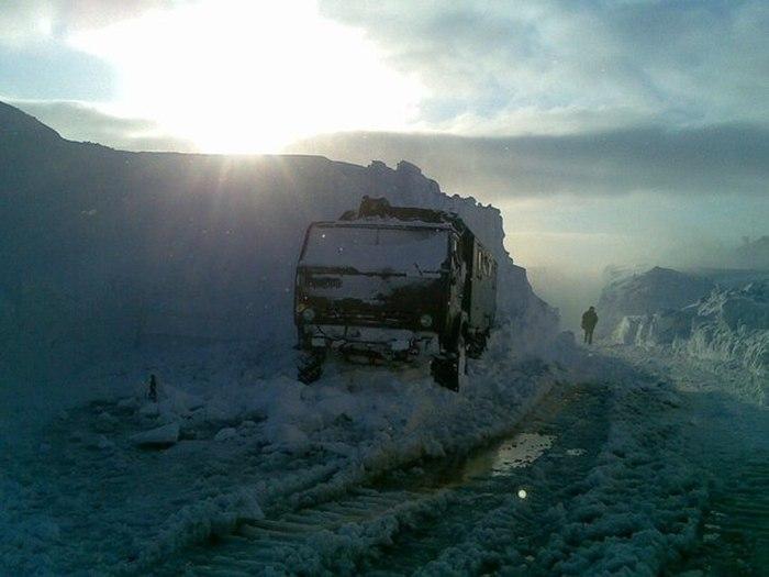 Инстаграм арктического солдата