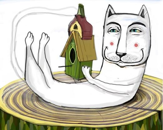 Стены Минска украсят котами и проведут квест