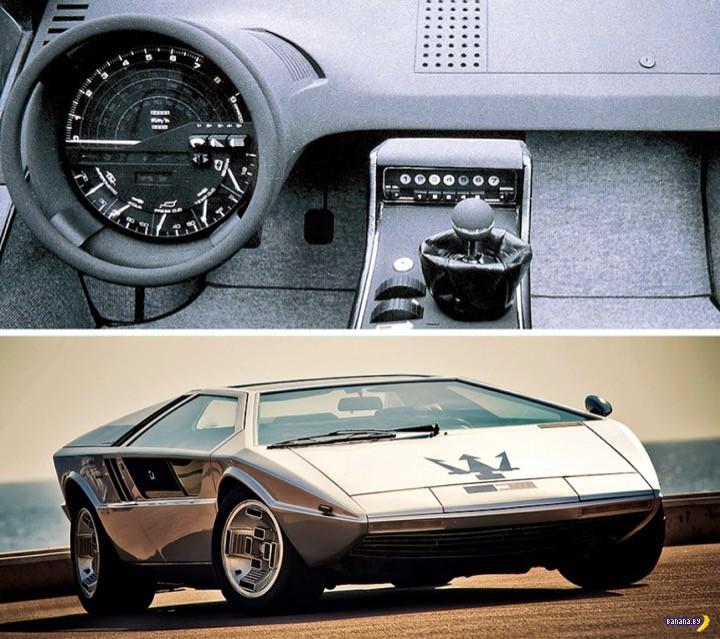 Футуристичные концепты авто из 1970-80
