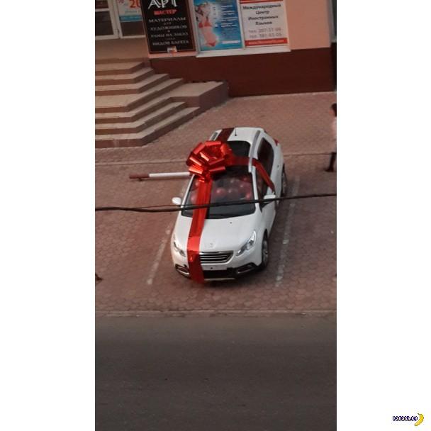 Моторола подарил жене внедорожник Пежо 2008