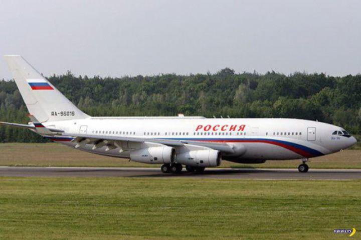 Новый самолёт Владимира Путина