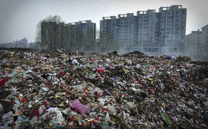 Про мусор больших городов