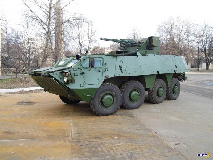 Украинский БТР-4 стал еще лучше