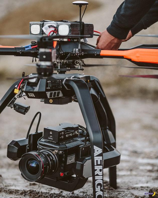 И снова камера для дронов-квадрокоптеров