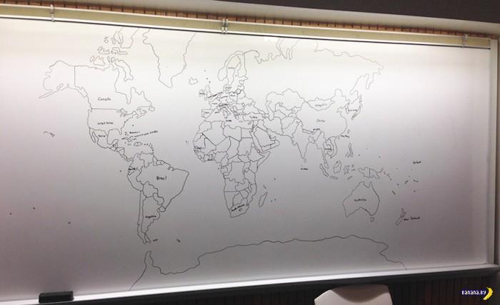 Аутизм и карта мира