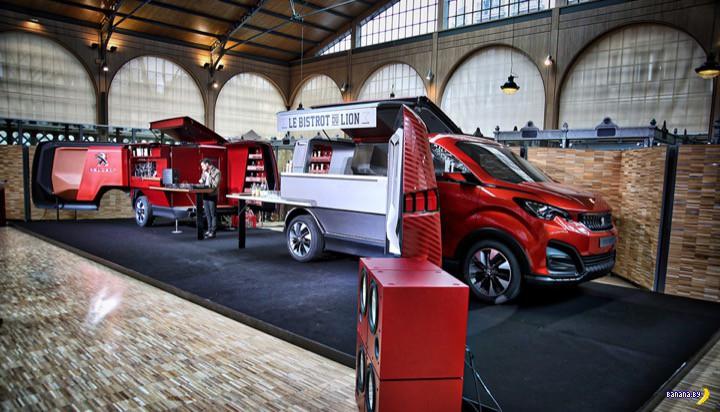 Бистро на колёсах от Peugeot