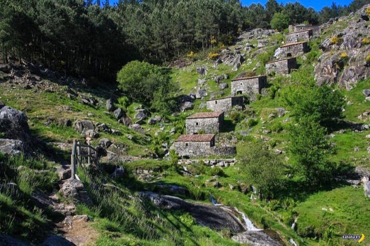 Каскад мельниц в Испании
