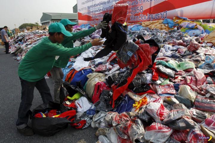 Борьба с контрафактом в Таиланде