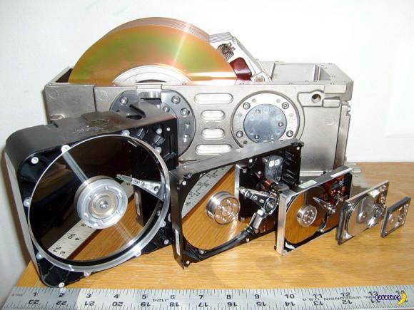 Немного про эволюцию жестких дисков
