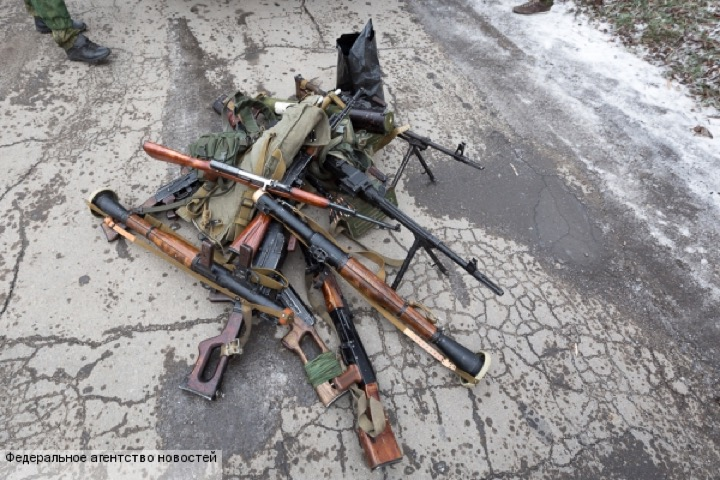 Добровольная сдача оружия в ЛНР и ловкость статистики