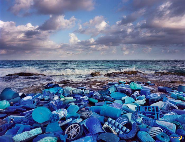 Странные инсталляции из мусора