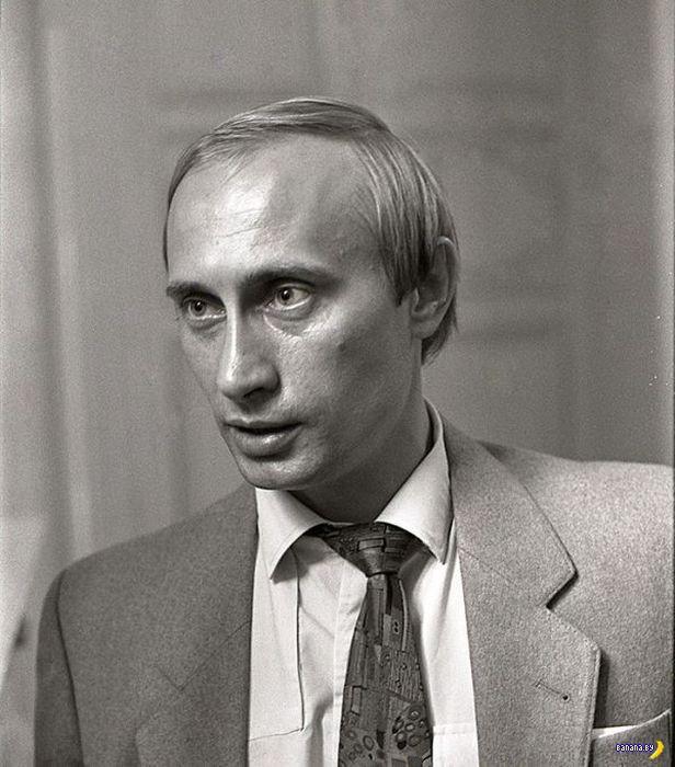 Редкие и старые фотографии Путина