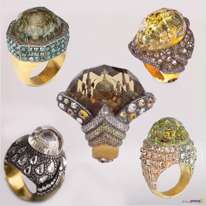 Уникальные украшения от турецкого мастера