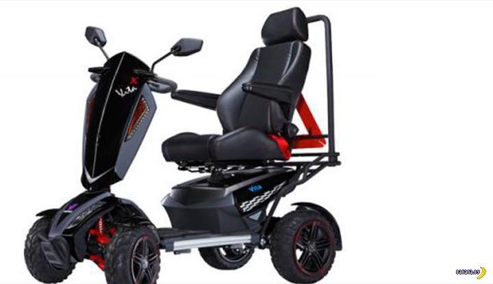 Про коляски с электроприводом