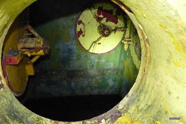 Заброшенный бункер времён ГДР