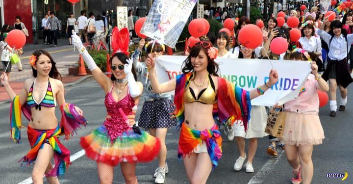 Гей-парад прошел в Токио