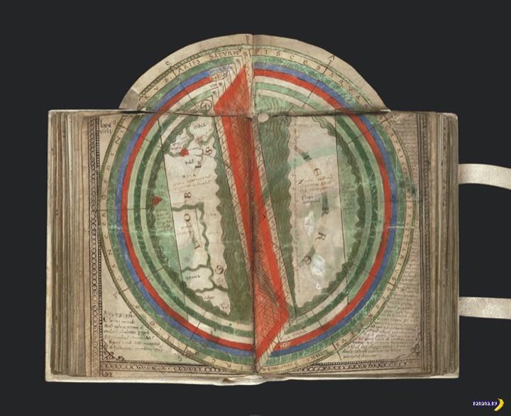 Космос и карты через века