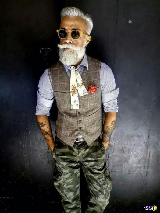 Дедушек одели в хипстеров