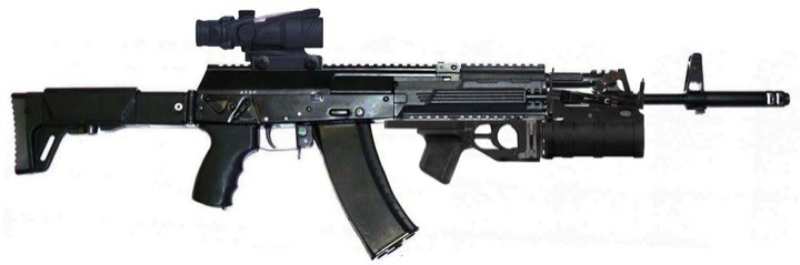 Армия России принимает на вооружение АК-12 и АЕК-971
