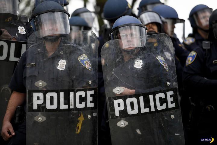 Балтимор и беспорядки