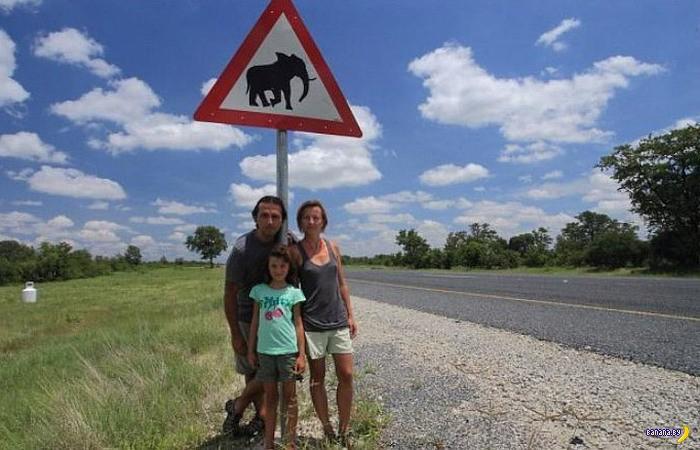 Дорожные знаки не для смеха придуманы!