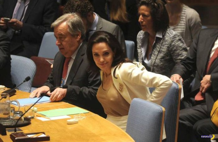 Энджи в ООН