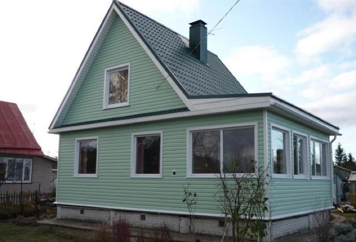 Про сайдинг на фасадах домов