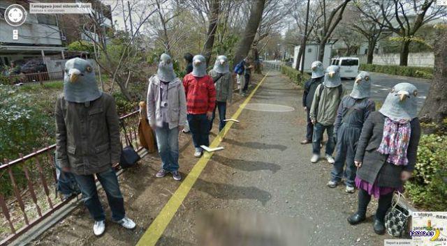 Всякие странности на Google Street View
