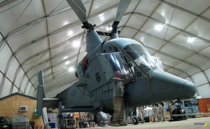 Американская военщина и пустые кабины вертолётов
