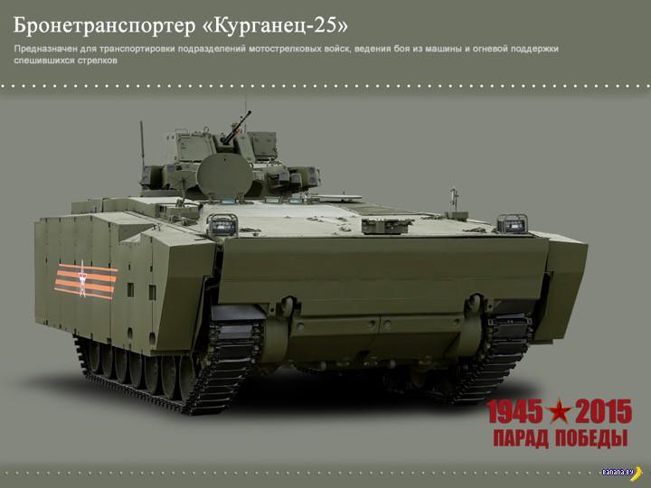 Новая и перспективная военная техника РФ