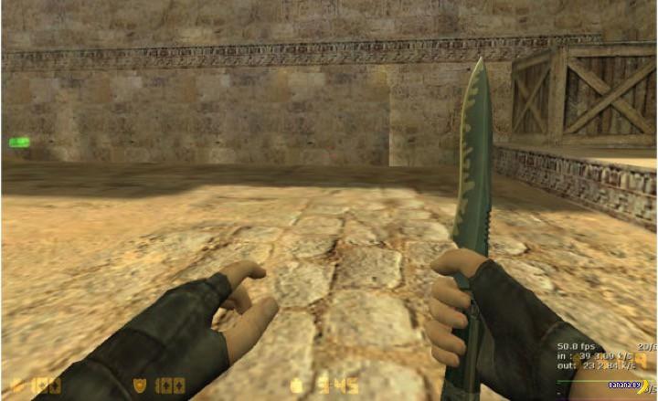 Нож за нож