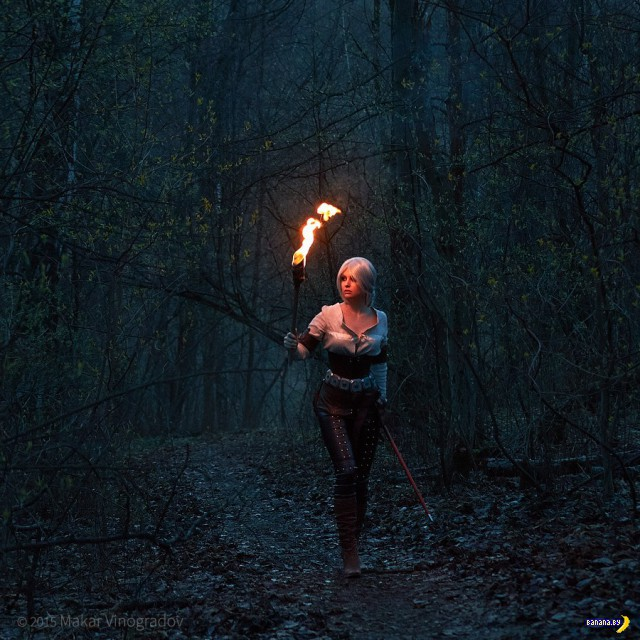 Косплей недели - The Witcher