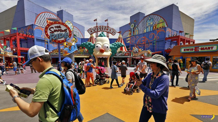 Новый парк развлечений по вселенной The Simpsons