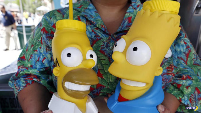 ����� ���� ����������� �� ��������� The Simpsons