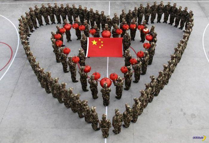Китайцев много!