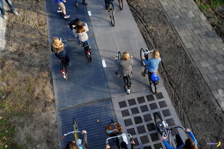 Солнечная велодорожка работает лучше, чем планировали!