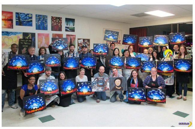 Не все студенты-художники могут сделать правильно