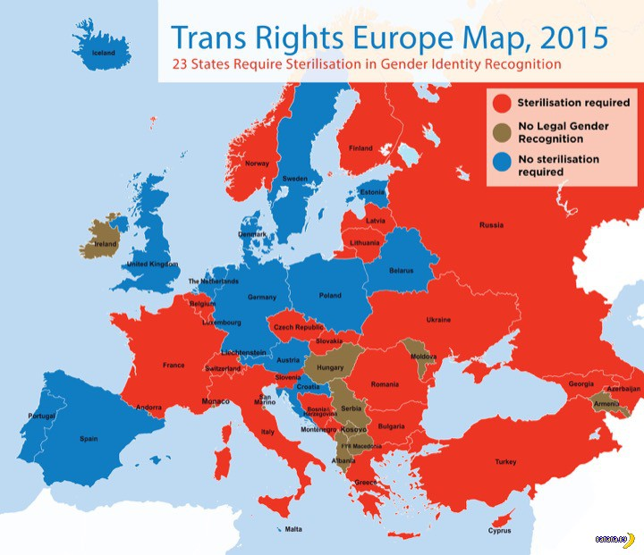 Интересная статистика по транссексуалам