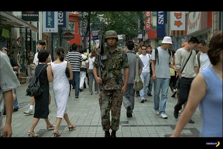 Корейский солдат устроил бойню