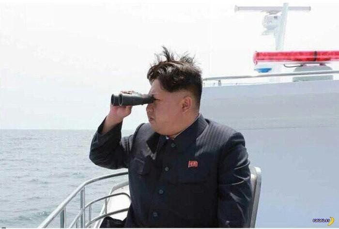 Ким Чен Ын и его новая игрушка