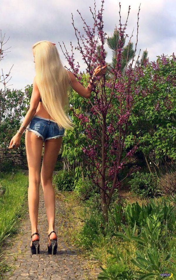 Еще Лукьянова в саду
