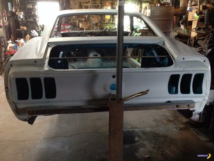 1969 Ford Mustang: �� ���� ������� ������ �� �����