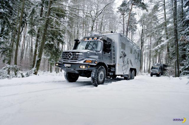 Обновили Mercedes Benz Zetros