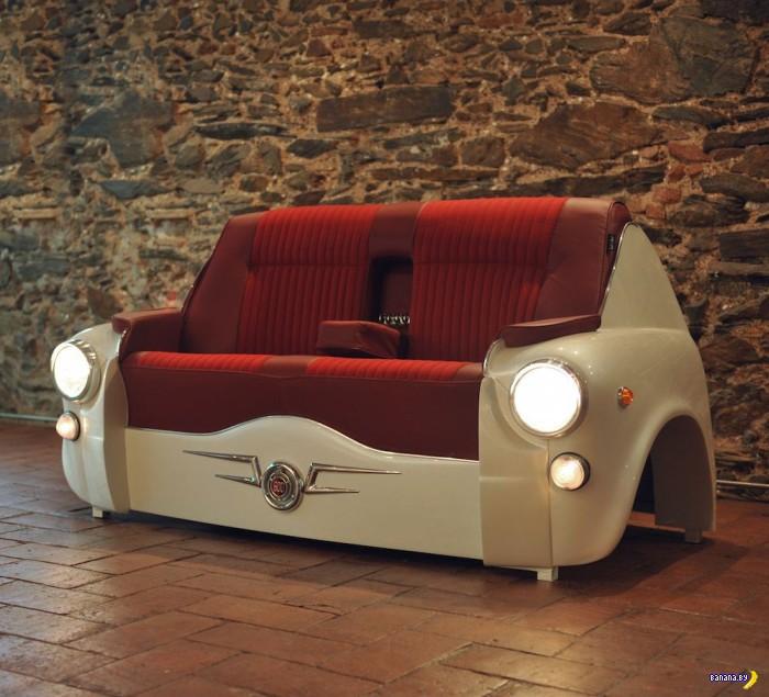 Мебель из старой техники