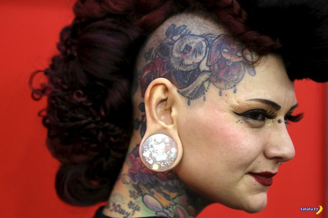 Люди с Great British Tattoo Show