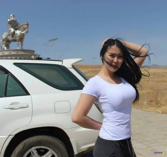 Монгольские девушки! ШОК!