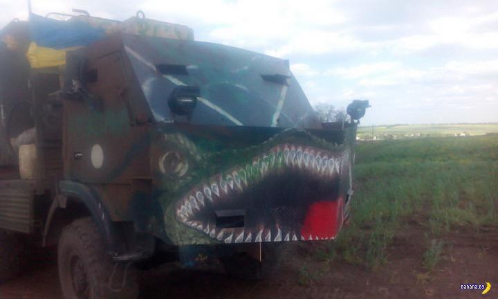 Новинки парадоксальной военной техники из зоны АТО