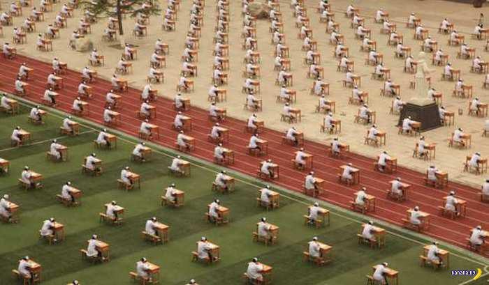 Очередные экзамены в Китае