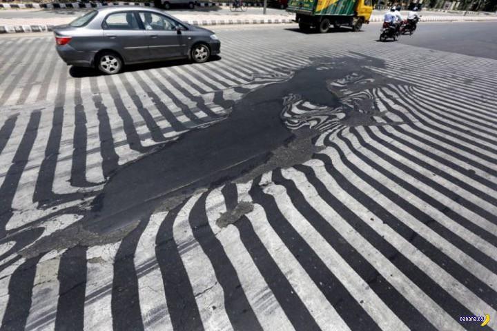 И снова про аномальную жару в Индии